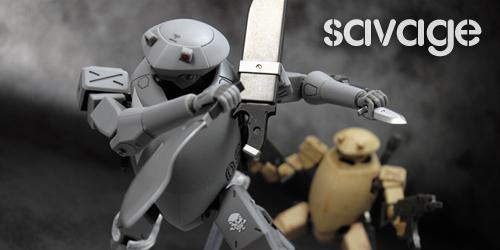 ROBOT魂サベージレビュー