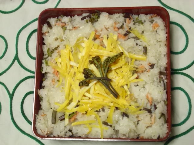 わらび寿司