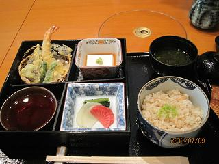 新生姜定食