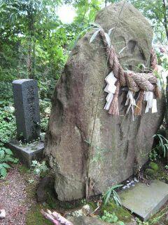 本宮神社、猿田彦石碑
