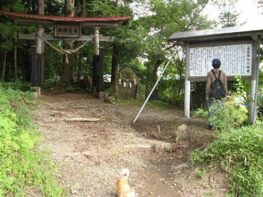 本宮神社、入り口1