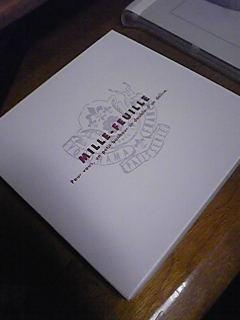 嫁がホワイトデーに貰った多層菓子(ミルフィーユ)。横濱フランセ。
