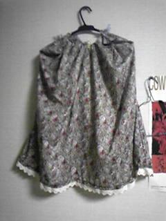 嫁用レトロワンピ・スカート部分。褪せた色合いが嫁のお気に入り。