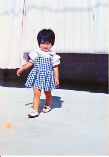 1989年10月4日・・・の、嫁。およそ1歳半。