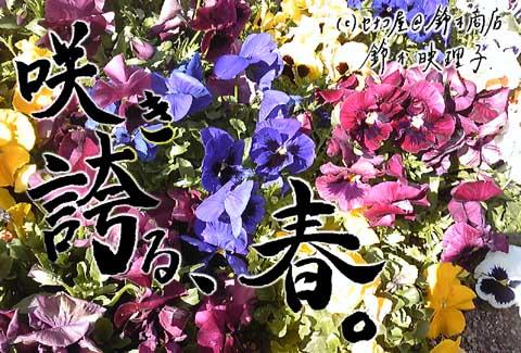 東日本大震災チャリティーポストカード3番。