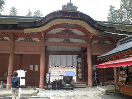 延暦寺東塔根本中堂