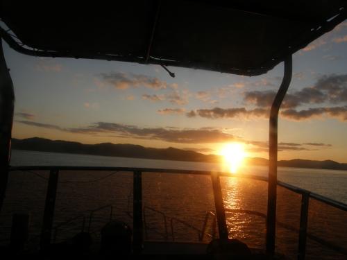 カケロマの夕日