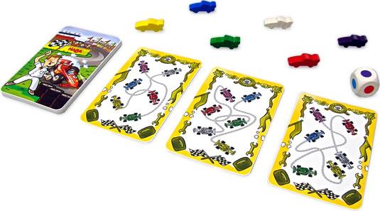 フルスロットル・カードゲーム:展示用写真