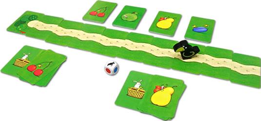 果樹園・カードゲーム:展示用写真