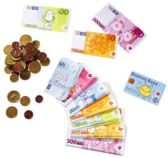 ハバユーロ:おもちゃのお金