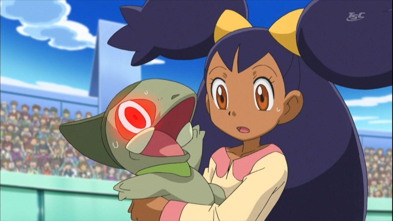 Watch Pokemon Season 14 Episode 42 Cilan Versus Trip Ash: Iris And