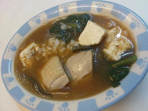 鶏の水炊き+味噌ぞうすい