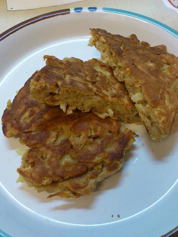 りんごのフライパンケーキ2