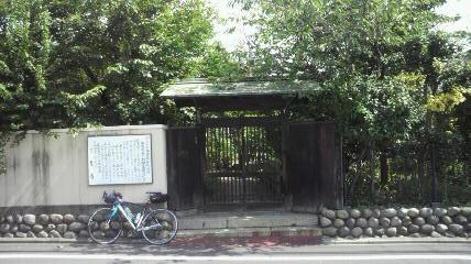 14番喜見寺山門