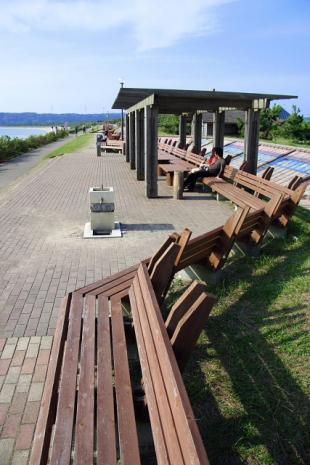 世界一長いベンチ1