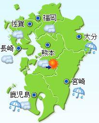 2009/08/02九州の天気