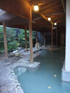 九州ホテル露天風呂