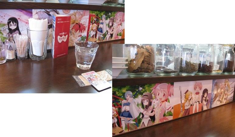 201107まどマギカフェ (4)