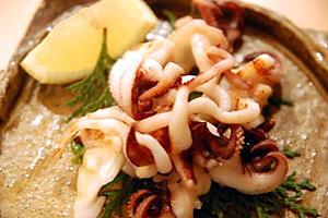 地蛸のグリル