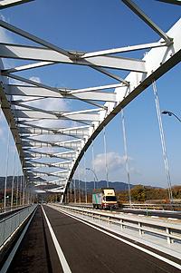 アーチ型の橋