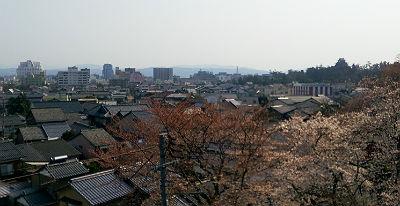 千手院からの景色