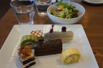 CAFE風のケーキ