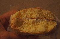 錦栄堂のチーズブッセ