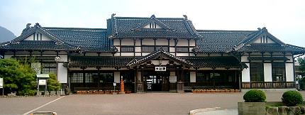 旧大社駅の駅舎