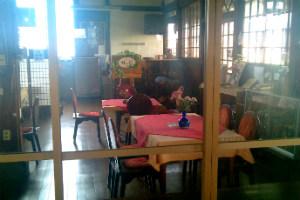 旧大社駅の喫茶野の花