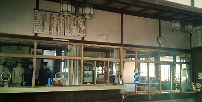 旧大社駅・駅舎内