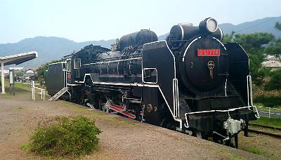 旧大社駅のSL