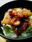 厚切り豚ばら肉のしょうが焼き丼02