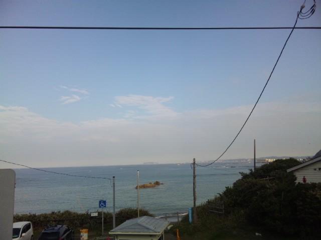 江ノ島も見えるぞ