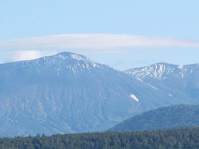 層雲峡方面