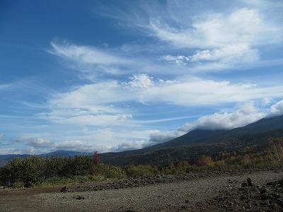 望岳台から雲。。。
