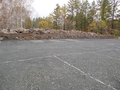 駐車場広くなりました。