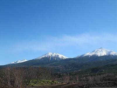 3つのお山~