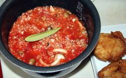 ケンタッキーチキン炊き込みご飯2