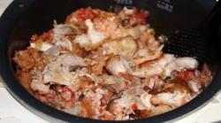 ケンタッキーチキン炊き込みご飯3