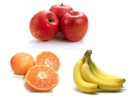 リンゴバナナミカン