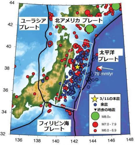 地震プレート