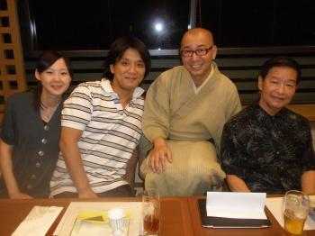 杉浦シェフと藤春夫妻