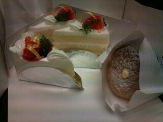 玉造温泉 ケーキ