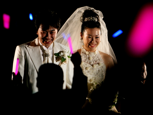 ご結婚おめでとうございます。お幸せに❤