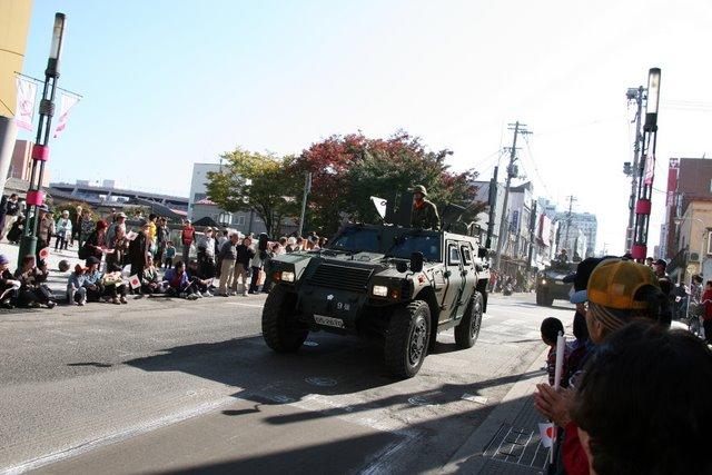 平成21年度自衛隊創立記念行事 市中パレード