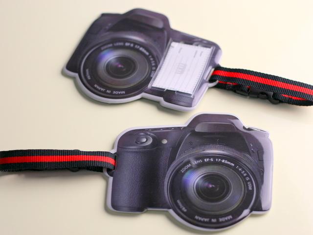 カメラ ネームプレート