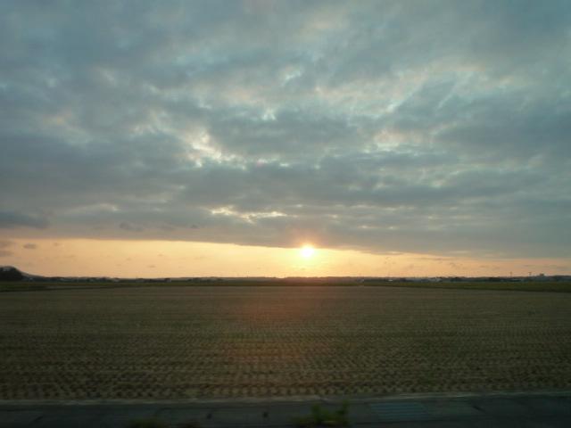 夕陽を追いかけて5