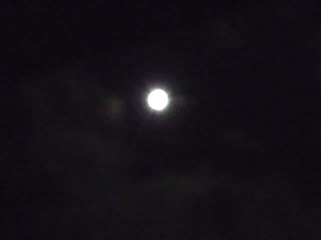 中秋の名月(酔ってブレブレ)
