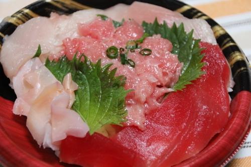 マグロ丼♪