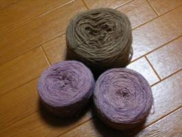 Nさん手紡ぎ糸
